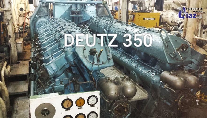 DEUTZ 350 SUPPORT